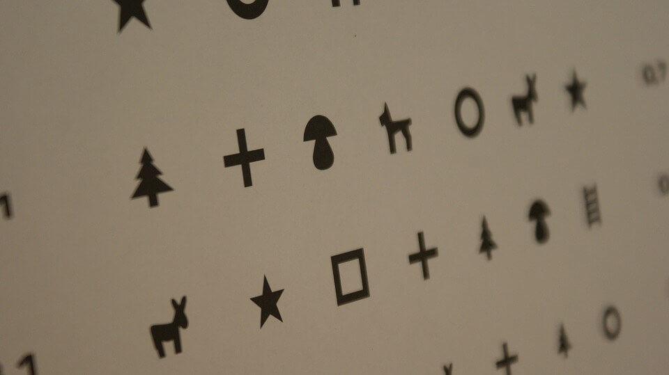 új látásvizsgálati táblázatok agyrázkódás romlott a látás