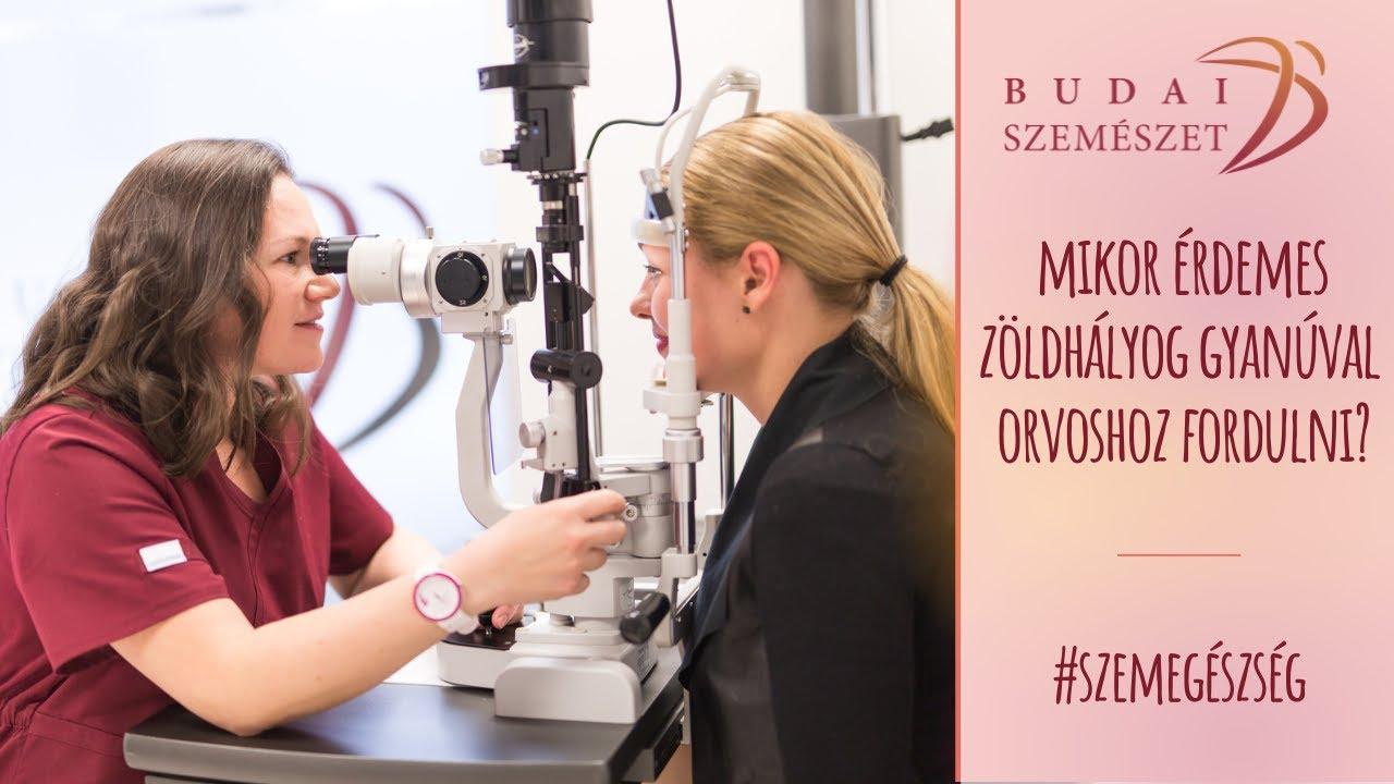 a glaukóma látása helyreáll
