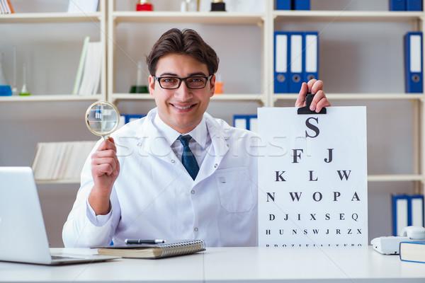 orvos látásvizsgálata távolsági látásvizsgálati táblázatok