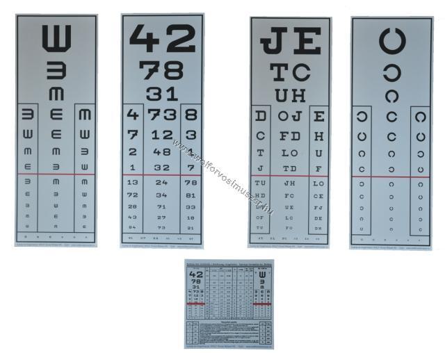 látásélesség 09 látás diagnosztikai program