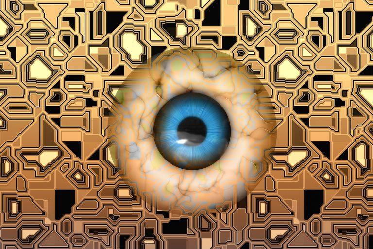 a szem látása mozog