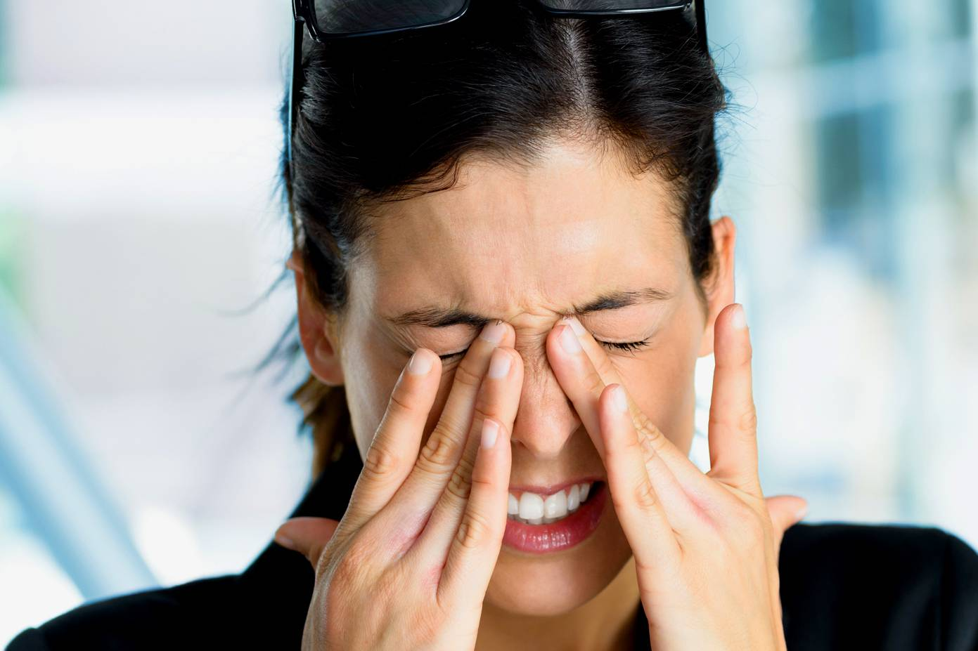 pánikroham esetén a látás romlik