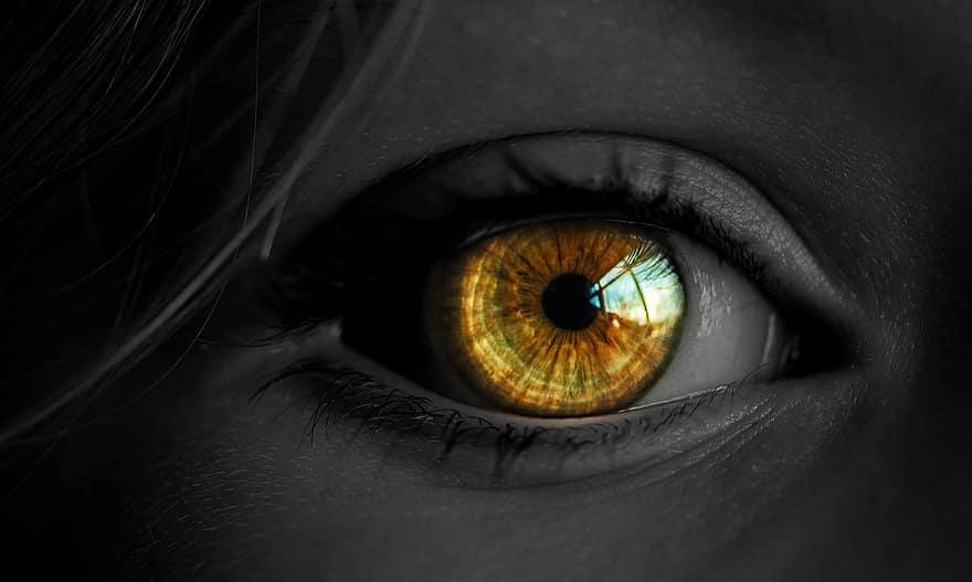 lány látással a látást helyreállító műveletek