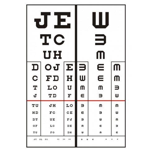 látásélesség 2
