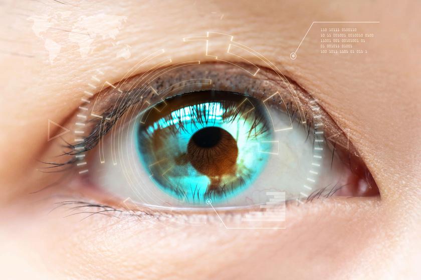 ásítás és látás