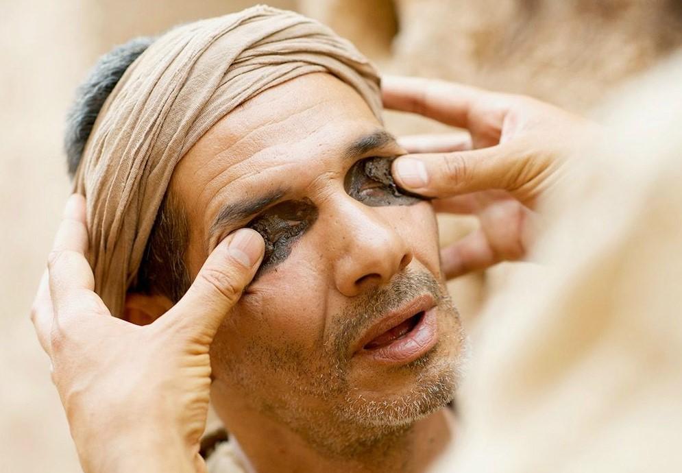 Visszaadom a vak ember látását