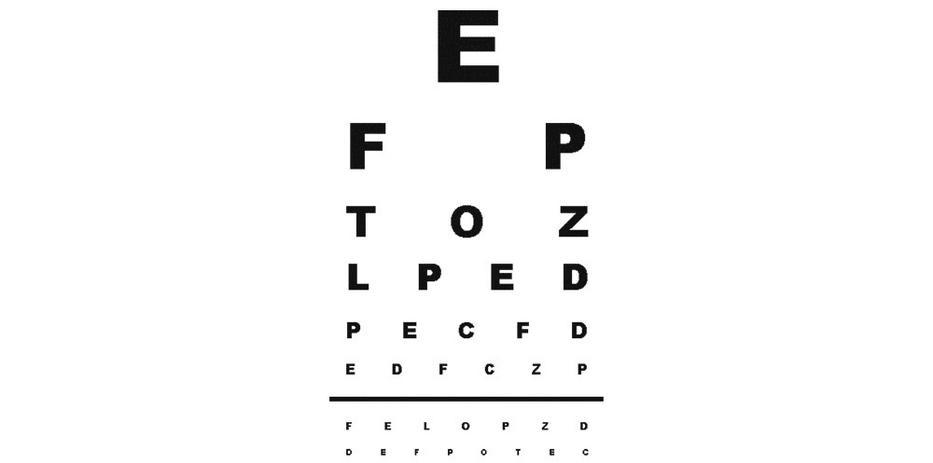 látásvizsgálati átverés